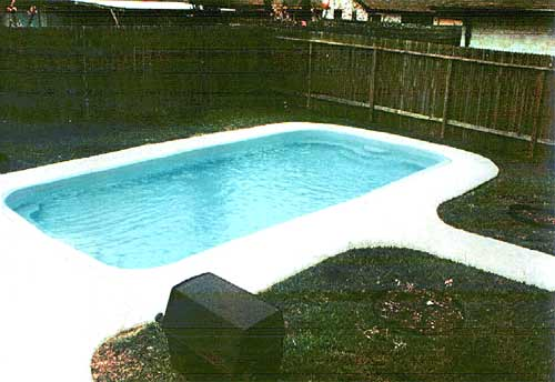 The Colorado Fiberglass Swimming Pool