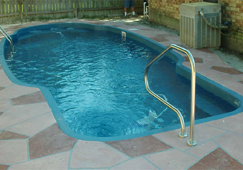 The Llano Fiberglass Swimming Pool