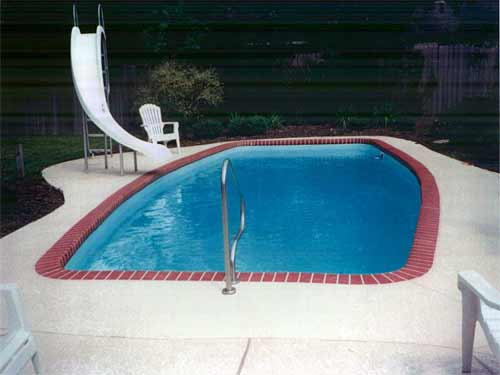 The Neches Fiberglass Swimming Pool
